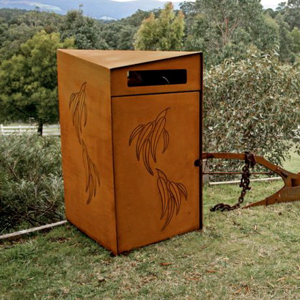 AMPS-88758 Bushland Wheeled Bin Enclosure