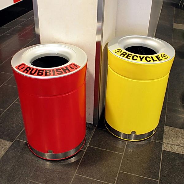 AMPS-ORB Olympian Recycle Bin