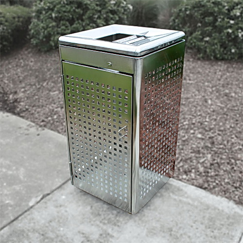 AMPS-87882SS Wheeled Bin Enclosure