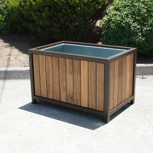 AMPS-88667S Timber Slat Planter