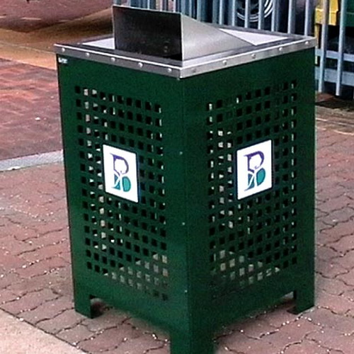 AMPS-Standard TC Wheeled Bin Enclosure