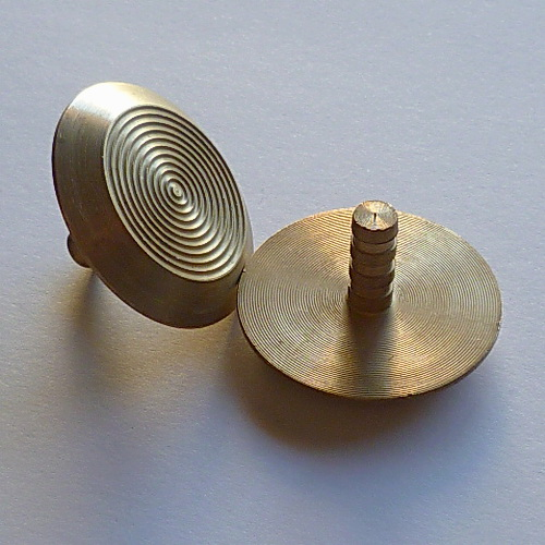 AMPS-Type 1PP Brass Tactile Stud