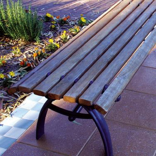 Boulevard Timber Slat Seat