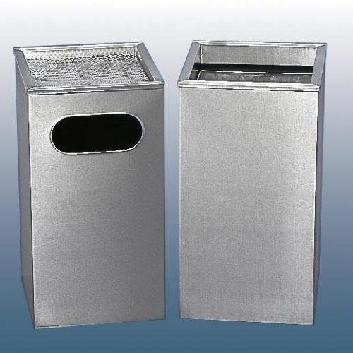 AMPS-L400BSQ Square Litter Bin