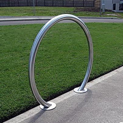AMPS-BRB003 304 S.S. Circular Bike Rack