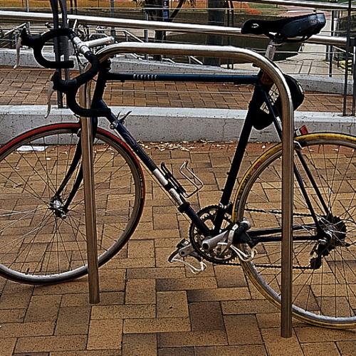 AMPS-BRB005 Hoop 304 S.S. Bike Rack