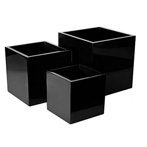 AMPS-DC Designer Cube FRG Planters