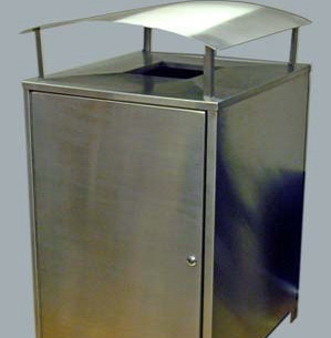 AMPS-SM1050SSRH Wheeled Bin Enclosure