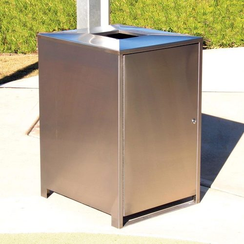 AMPS-SM1050SS Wheeled Bin Enclosure