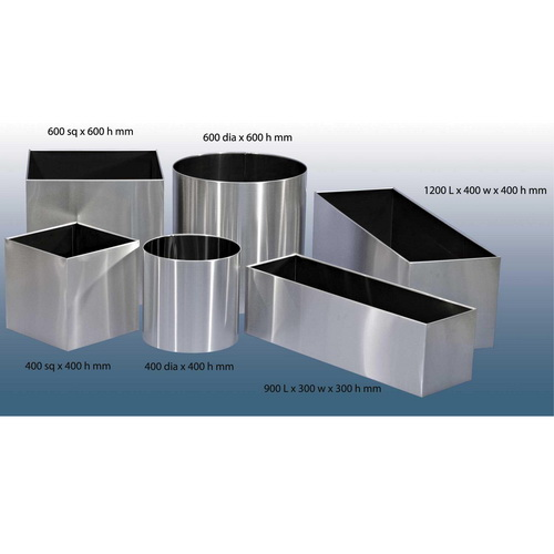 AMPS-SS Stainless Steel Planters
