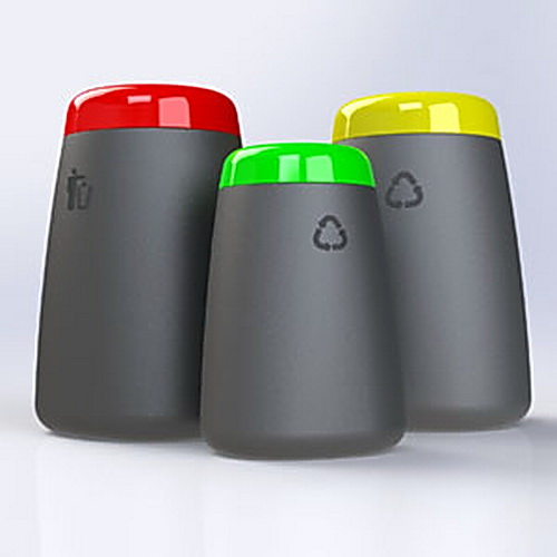 AMPS-TOT Litterbin