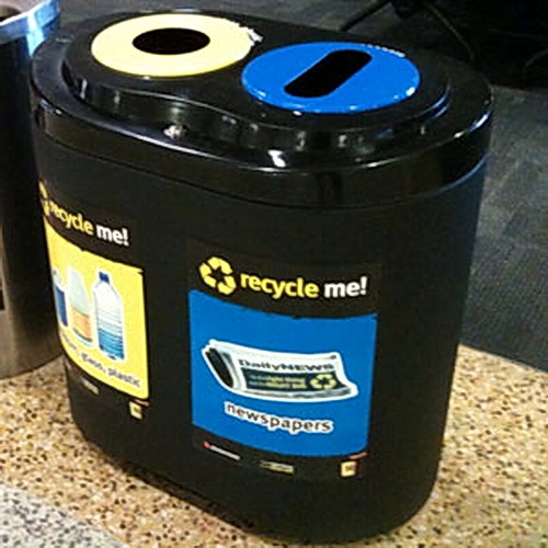 AMPS-TRS Transit Recycle Station