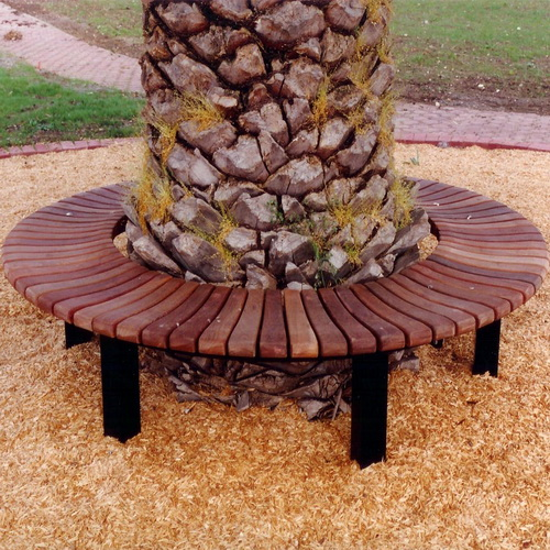 Rugby Circular Bench