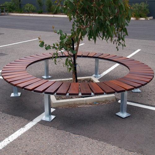 Utility-140 Circular TS Bench
