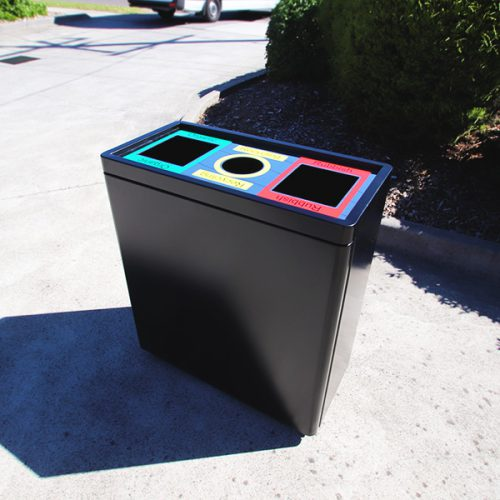 AMPS-88922 Triple Bin Recycle Station